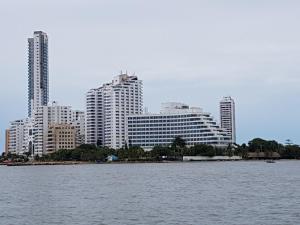 Espectaculares Vistas, Edificio Nautilus, Barrio El Laguito., Apartmány  Cartagena de Indias - big - 11