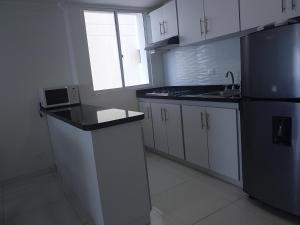 Espectaculares Vistas, Edificio Nautilus, Barrio El Laguito., Apartmány  Cartagena de Indias - big - 8