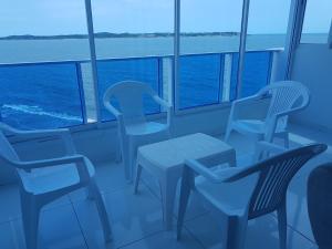 Espectaculares Vistas, Edificio Nautilus, Barrio El Laguito., Ferienwohnungen  Cartagena de Indias - big - 4