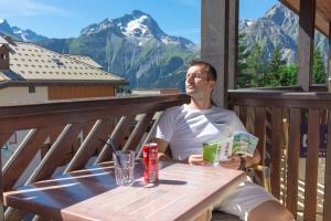 Hotel Les Flocons, Hotely  Les Deux Alpes - big - 12