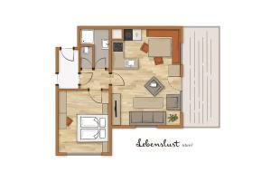 Bio-Holzhaus und Landhaus Heimat, Apartmány  Ramsau am Dachstein - big - 67
