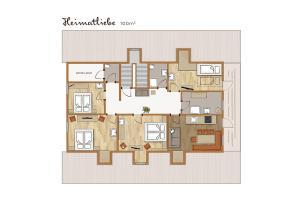 Bio-Holzhaus und Landhaus Heimat, Apartmány  Ramsau am Dachstein - big - 68