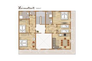 Bio-Holzhaus und Landhaus Heimat, Apartmány  Ramsau am Dachstein - big - 69