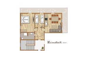 Bio-Holzhaus und Landhaus Heimat, Apartmány  Ramsau am Dachstein - big - 71