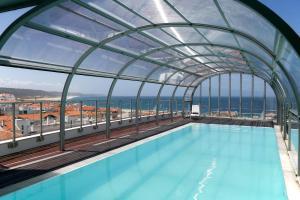 Hotel Praia, Отели  Назаре - big - 53