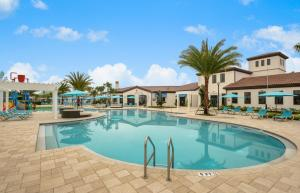 Four Bedroom Vacation Townhouse 19md86 Windsor at Westside, Nyaralók  Kissimmee - big - 11