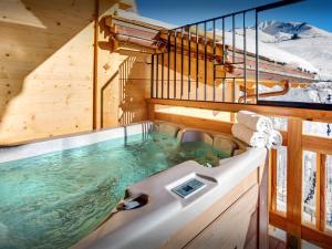 Chalet Macaron, Alpesi faházak  Le Grand-Bornand - big - 20