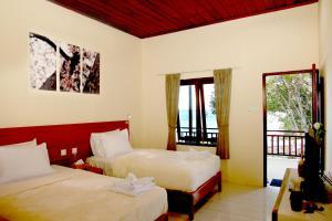 Pokój Dwuosobowy z 1 lub 2 łóżkami i widokiem na morze