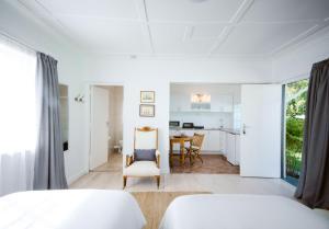 Standard-2-personersværelse med udsigt over haven
