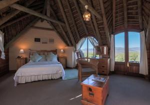 Deluxe-dobbeltværelse med fuld havudsigt og balkon