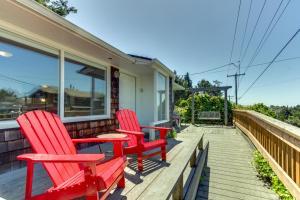 Hemlock Modern Beach House, Nyaralók  Cannon Beach - big - 33