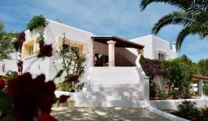 Hacienda Encanto del Rio, Apartmány  Es Figueral Beach - big - 47