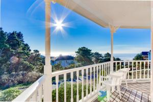Victorian By The Sea, Holiday homes  Lincoln City - big - 22