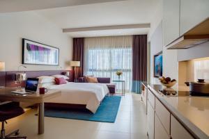 Ettromsleilighet Classic med king-size-seng