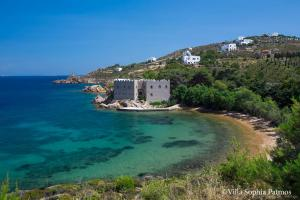Villa Sophia Patmos, Vily  Grikos - big - 6
