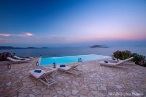 Villa Sophia Patmos, Ville  Grikos - big - 26