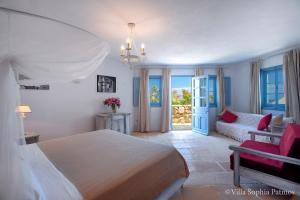 Villa Sophia Patmos, Ville  Grikos - big - 24