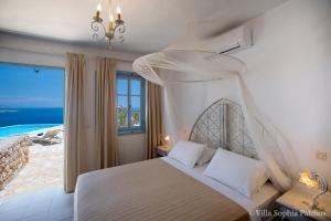 Villa Sophia Patmos, Ville  Grikos - big - 22