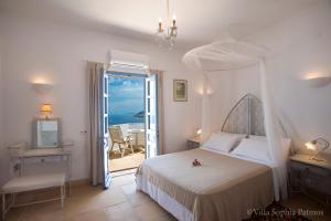 Villa Sophia Patmos, Ville  Grikos - big - 19