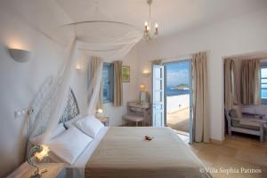 Villa Sophia Patmos, Ville  Grikos - big - 21
