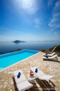Villa Sophia Patmos, Ville  Grikos - big - 14