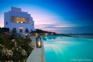 Villa Sophia Patmos, Ville  Grikos - big - 16