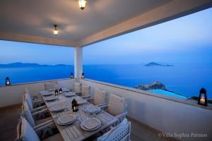 Villa Sophia Patmos, Ville  Grikos - big - 11