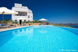 Villa Sophia Patmos, Ville  Grikos - big - 10