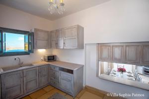 Villa Sophia Patmos, Ville  Grikos - big - 9