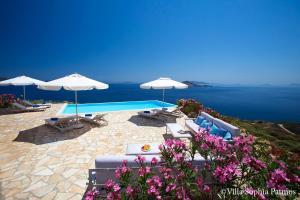 Villa Sophia Patmos, Vily  Grikos - big - 8