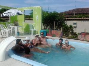 Casa da Praia Unamar, Holiday homes  Tamoios - big - 8