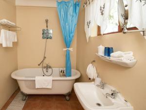 Dobbelt-/2-personersværelse med badekar