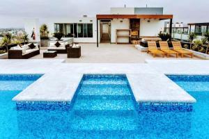 Exclusivo Departamento Con Vista Al Mar, Appartamenti  Lima - big - 1