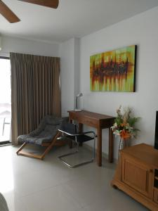Studio View Talay 5C, Apartmány  Pattaya South - big - 36