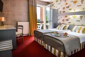 Logis Le Vieux Logis, Hotel  Lestelle-Bétharram - big - 6