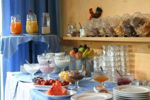 Hotelpension zum Gockl, Гостевые дома  Аллерсхаузен - big - 42