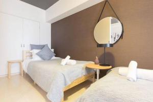 Ostay Apartment in Honmachibashi 606Â, Ferienwohnungen  Osaka - big - 11