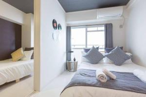 Ostay Apartment in Honmachibashi 606Â, Ferienwohnungen  Osaka - big - 13