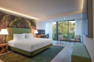 Familieværelse med kingsize-seng