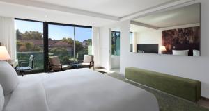 Familienzimmer mit Kingsize-Bett