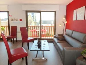 Apartment Baccara, Appartamenti  Deauville - big - 11