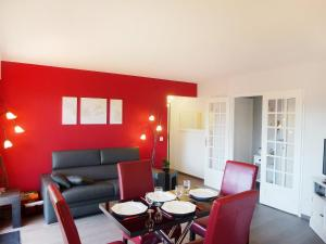 Apartment Baccara, Appartamenti  Deauville - big - 8