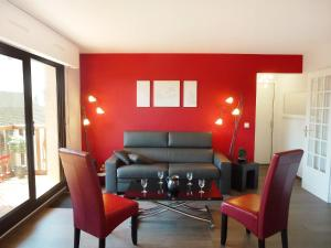 Apartment Baccara, Appartamenti  Deauville - big - 3