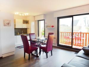 Apartment Baccara, Appartamenti  Deauville - big - 5