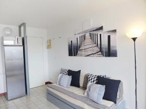 Apartment Les Balcons de la Méditerranée.17, Ferienwohnungen  Narbonne-Plage - big - 10