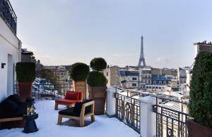 Hotel Marignan Champs-Elysées, Отели  Париж - big - 7
