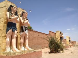 Hotel Marmar, Hotely  Ouarzazate - big - 76