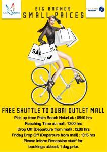 Palm Beach Hotel, Hotely  Dubaj - big - 13