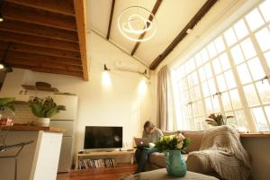FX78 French Concession Loft & Terrace, Apartmanok  Sanghaj - big - 8
