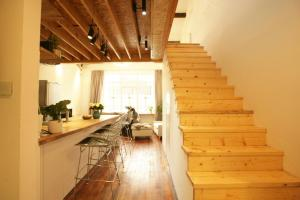FX78 French Concession Loft & Terrace, Apartmanok  Sanghaj - big - 29